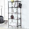 storage rack with 5 shelves