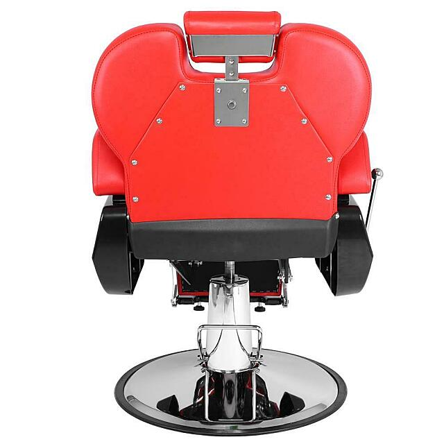 hydraulic red barber chair